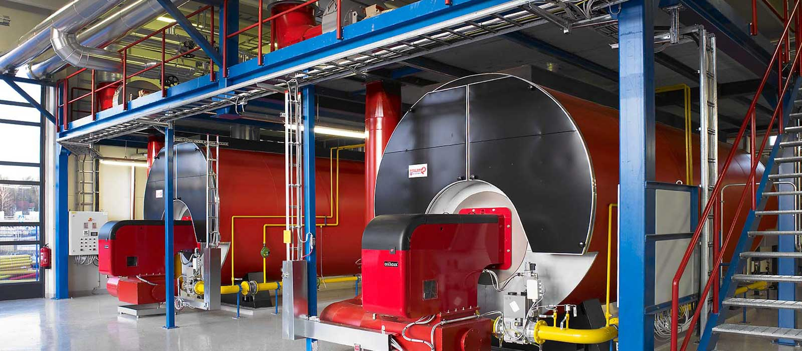 Commercial Boiler Room : HVAC installation & maintenance - North West England