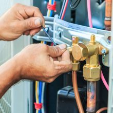 HVAC Pipework installation : air conditioning installation